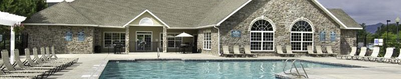 Taylorsville apartments has a sparkling swimming pool