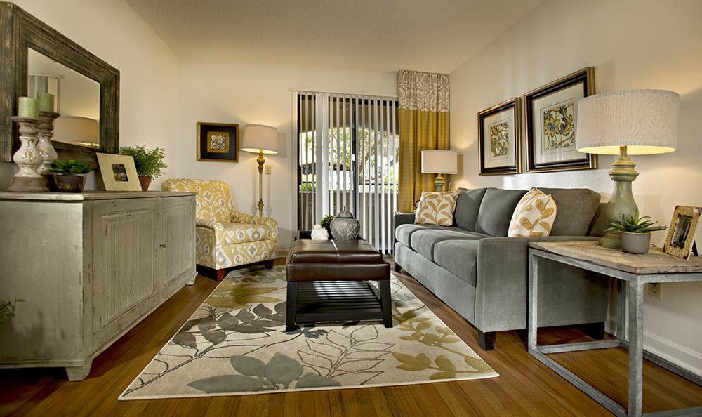 Apartment Interior At Villas at Mountain Vista