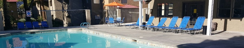 Las Vegas apartments has a pool