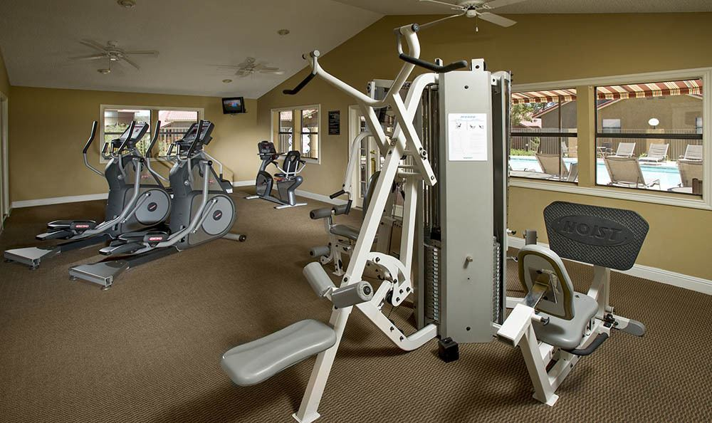 State Of The Art Fitness Center At Villas at Mountain Vista