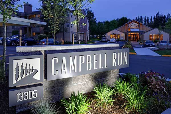 Welcome to the modern Campbell Run Apartments!