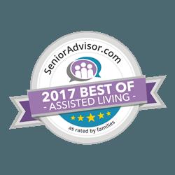 Senior Advisor 2017 Best of Assisted Living Award