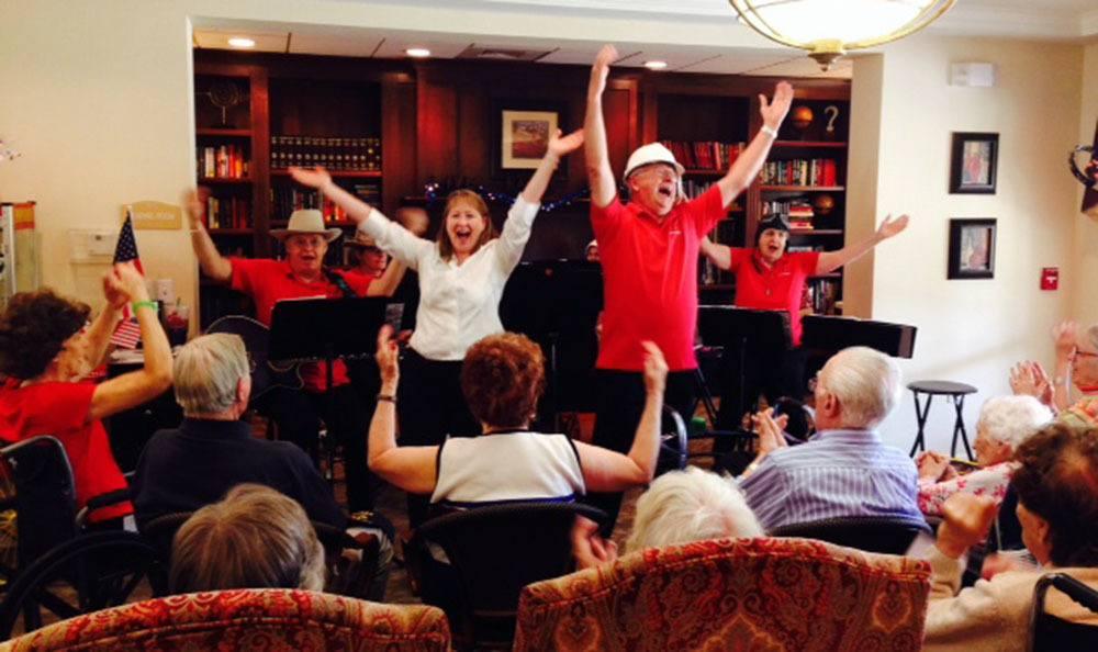 Enjoying a fun celebration in Greenwood Village