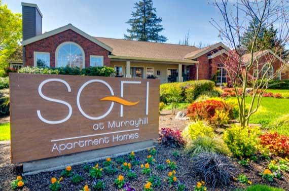 Call Sofi at Murrayhill home!