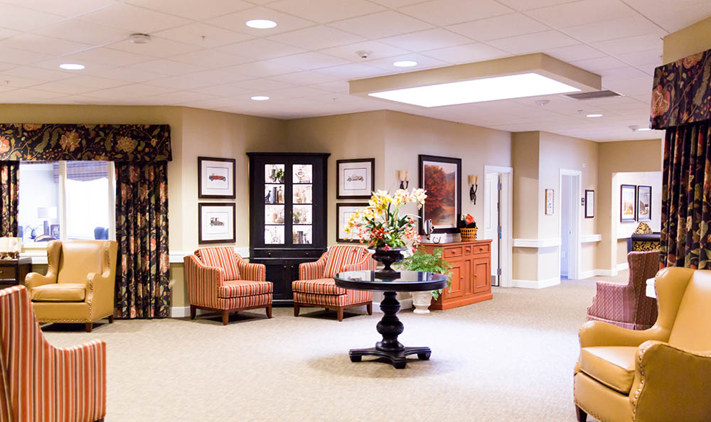 Interior Commons of Sage Park Alzheimer's Special Care Center