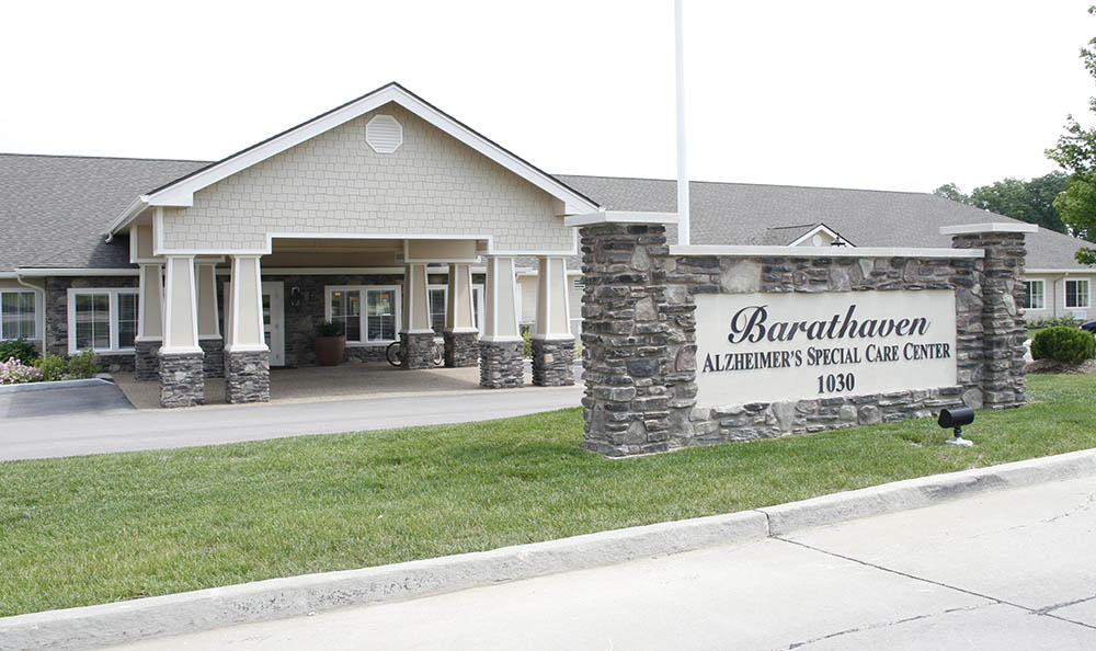 Barathaven Alzheimer's Special Care Center Front