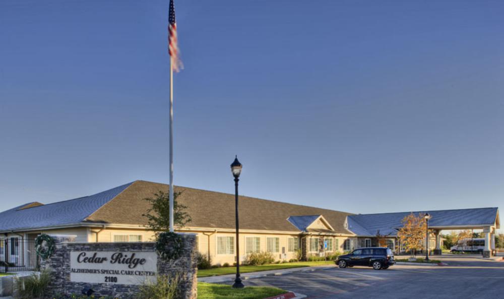 Exterior Front at Cedar Ridge Alzheimer's Special Care Center in Cedar Park