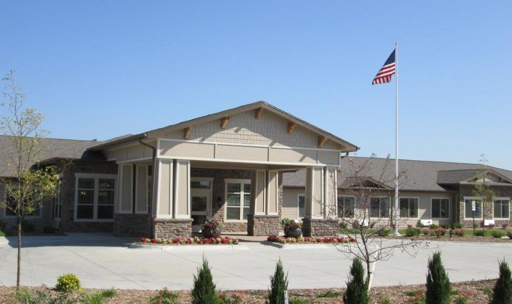 Exterior at High Plains Alzheimer's Special Care Center in Lincoln