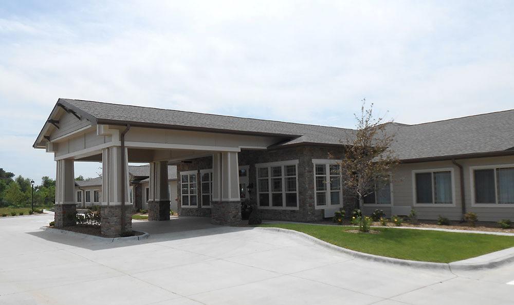 Prairie Meadows Alzheimer's Special Care Center Exterior