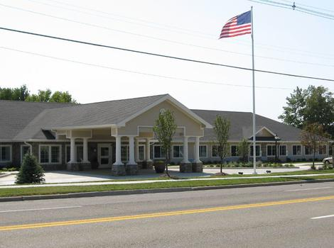 Exterior at Sugar Creek Alzheimer's Special Care Center in Normal