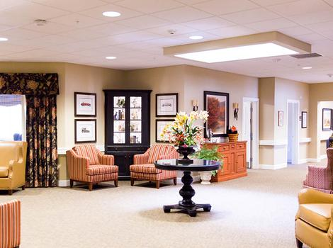 Interior Commons at Sage Park Alzheimer's Special Care Center