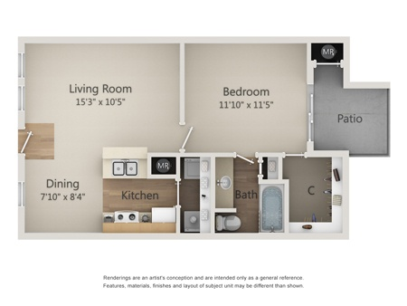 10 X 7 Bathroom Floor Plans