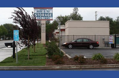 Exterior view of our storage facility in Redding