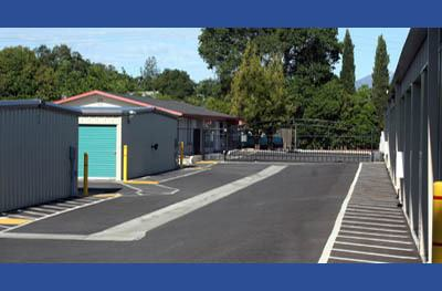 Self storage units for rent in Redding