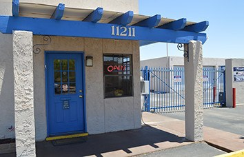 Photo links to our Armour El Paso I Armour Self Storage location.