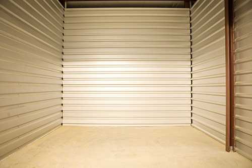 View of the inside of one of our interior units here at Moody Road Storage