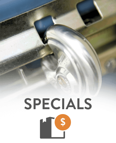 Check out what specials we offer