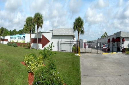 Secure storage in Port St Lucie with drive up access