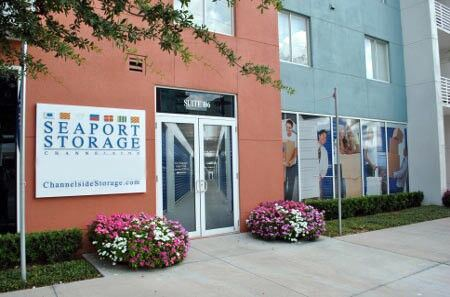 Front entrace of our Tampa self storage facility