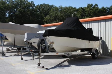 You can store a boat at our Odessa self storage