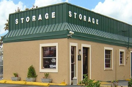 Main office building at storage in Clearwater