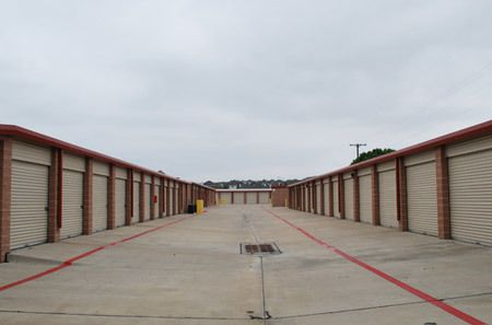 Exterior View Of Storage Units