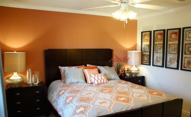 Beautiful bedroom at Stoneridge Farms at Hillwood in Murfreesboro, TN