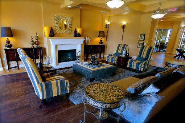 Beautiful clubhouse interior at The Enclave at Tranquility Lake in Riverview, FL