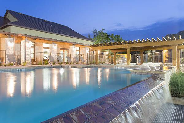Resort Style Pool At Our Austin Apartments
