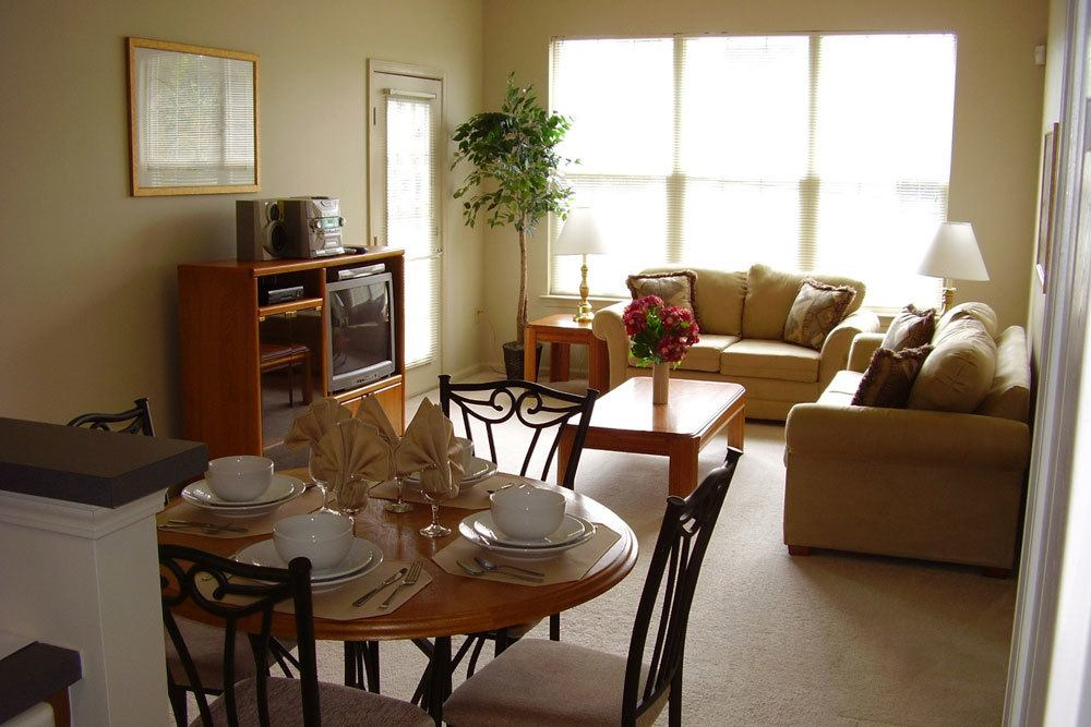 Entertain Your Friends In One Of Our Spacious Living Rooms