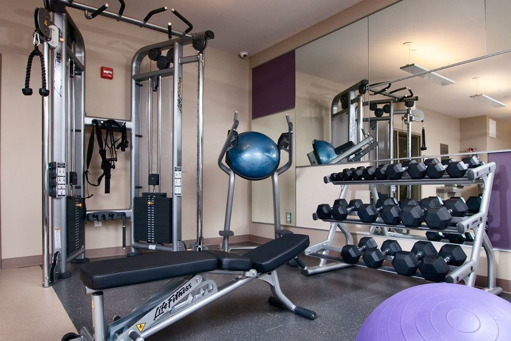 Our Fitness Center Features A Wide Variety Of Equipment