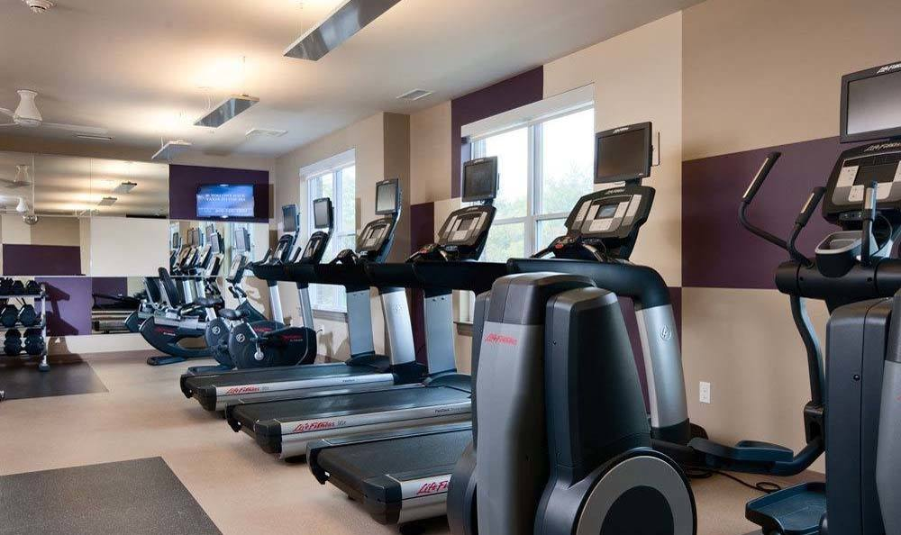 Treadmills At Our State Of The Art Fitness Center