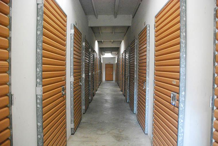 A look inside our self storage facility in Pacifica