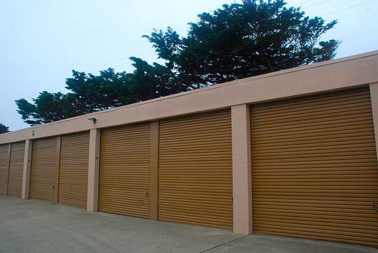 Many sizes of self storage available at Pacific Self Storage