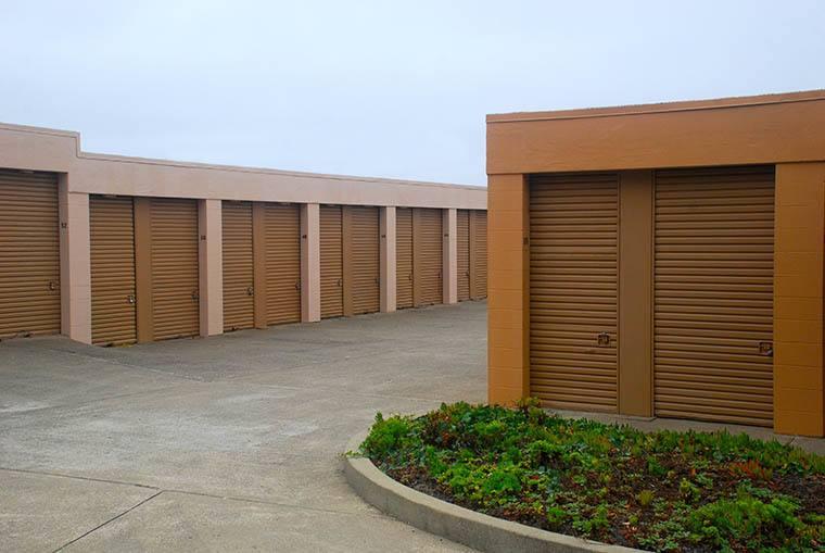 Self storage units at Pacific Self Storage