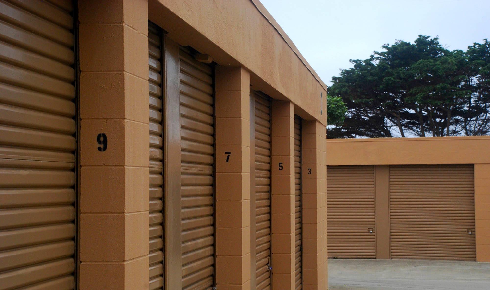 Self storage in Pacifica CA
