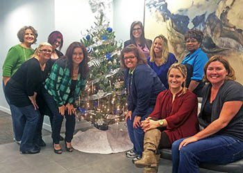 Celebrating the holiday's at WRH Realty Services, Inc