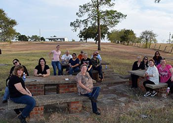 WRH Realty Services, Inc having a picnic