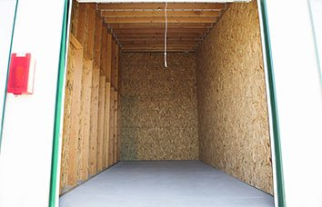 Nampa Self Storage Unit Interior