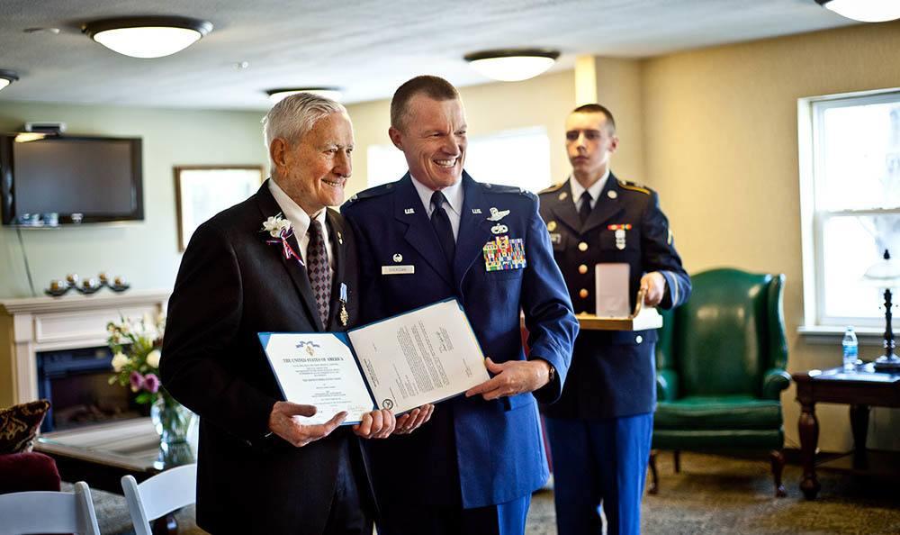 Veterans At Senior Living In Plainfield, IL