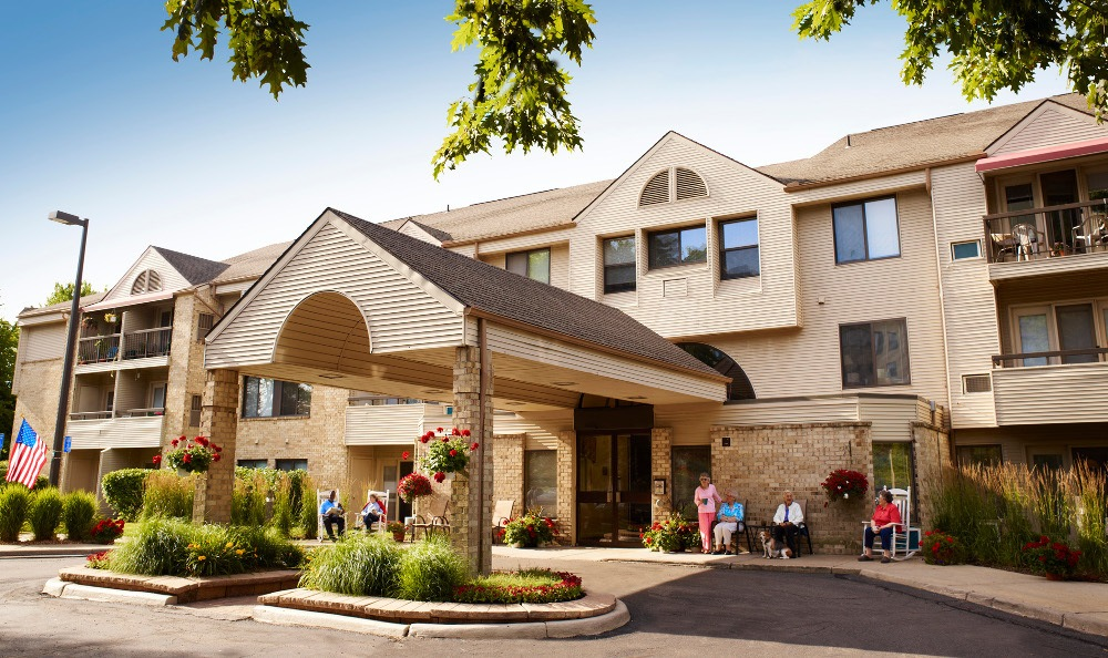 Exterior Of Senior Living In Ypsilanti MI