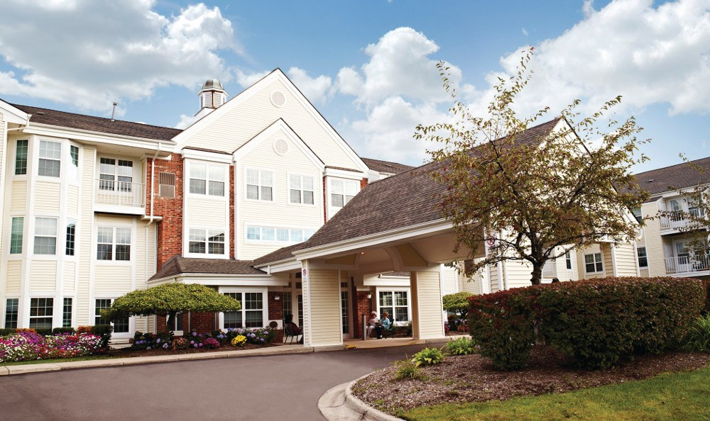 Exterior Of Senior Living In Grand Rapids, MI