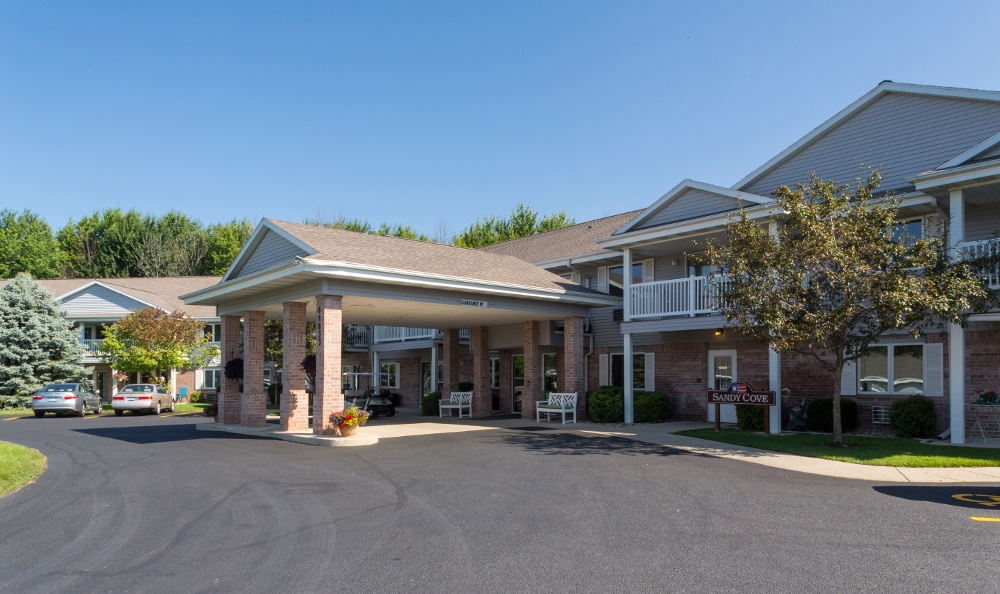 Exterior Of Senior Living In Holland, MI