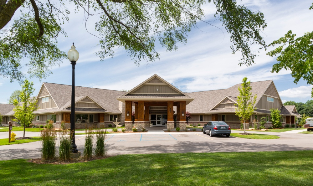 Exterior Of Senior Living in Jenison, MI