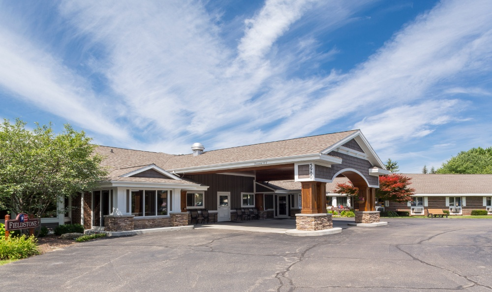 Exterior Of Senior Living in Kentwood, MI