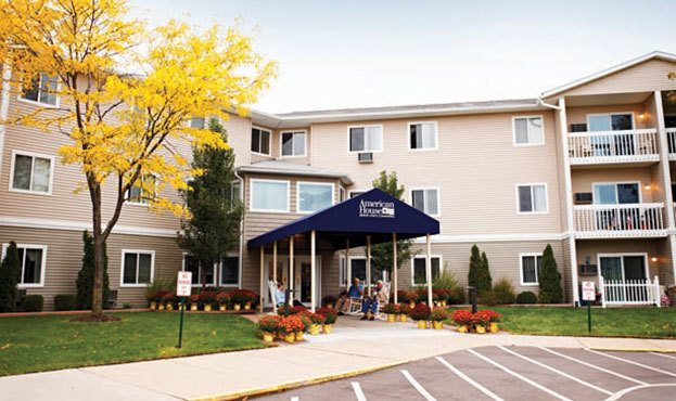 Exterior Of Senior Living in Southgate, MI