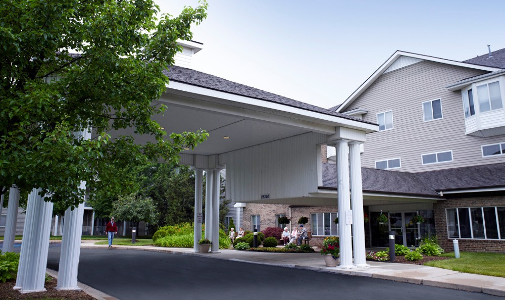 Exterior Of Senior Living In Taylor, MI