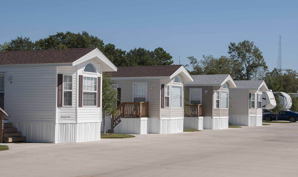 Clean Exterior Units at the Rv Resort in Houston