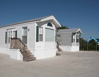 Exterior Units at the Rv Resorts in Houston