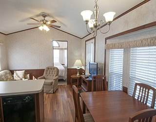 Spacious Living Room at the Rv Resorts in Houston